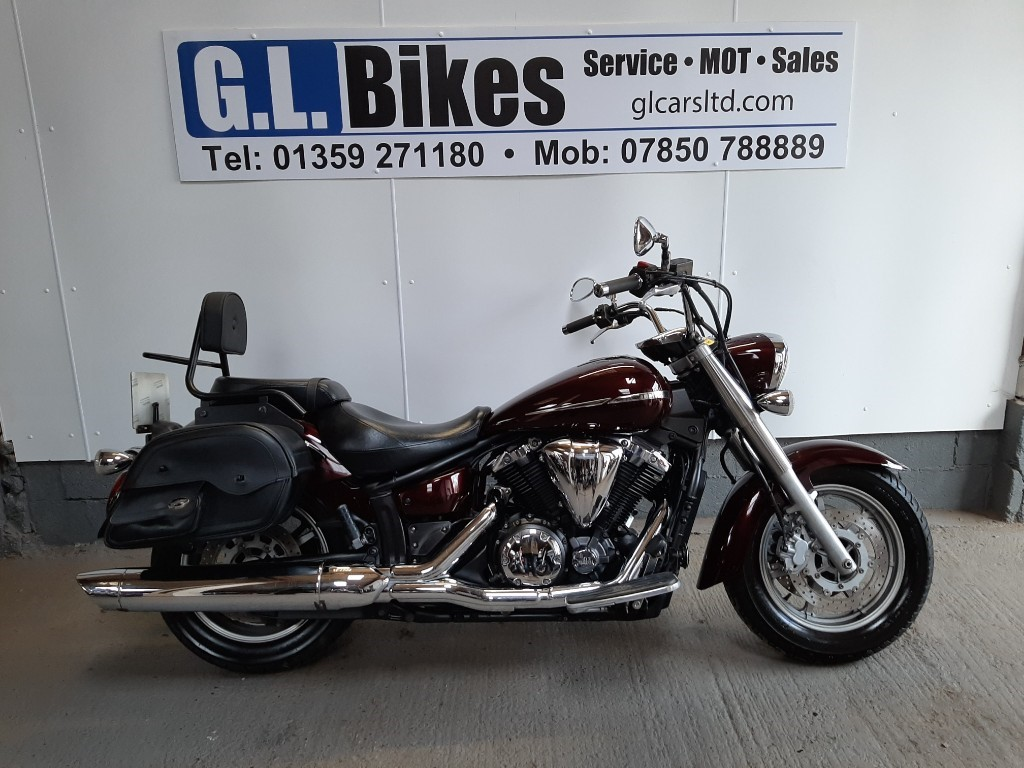used Yamaha XVS1300 MIDNIGHT STAR in suffolk