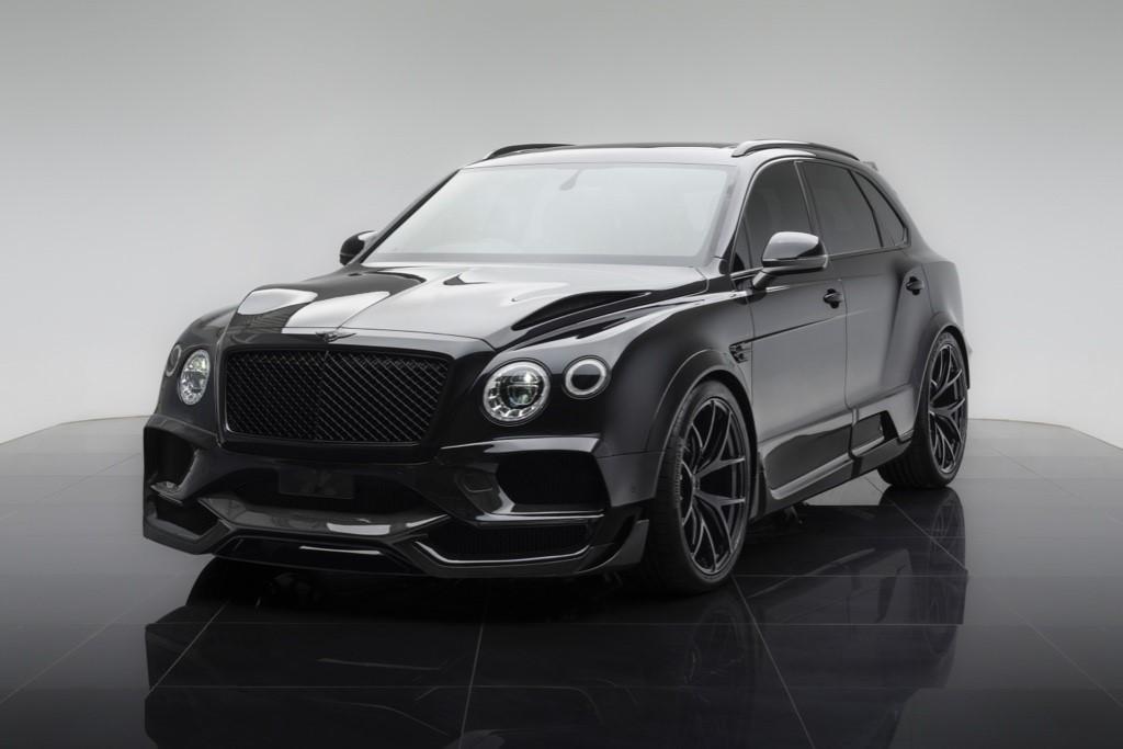 Bentley Bentayga Onyx London