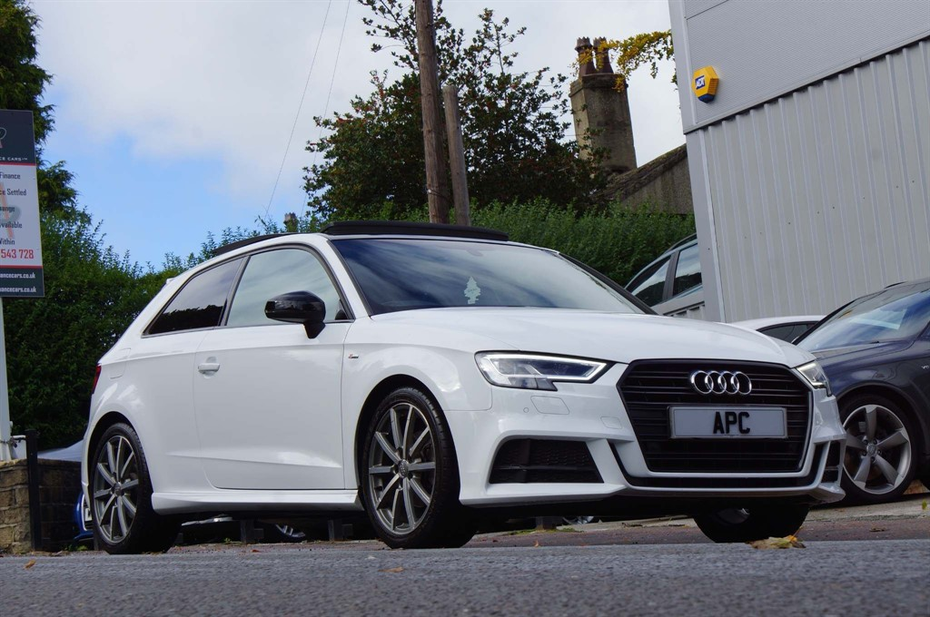 used Audi A3 TFSI CoD Black Edition S Tronic (s/s) 3dr in west-yorkshire
