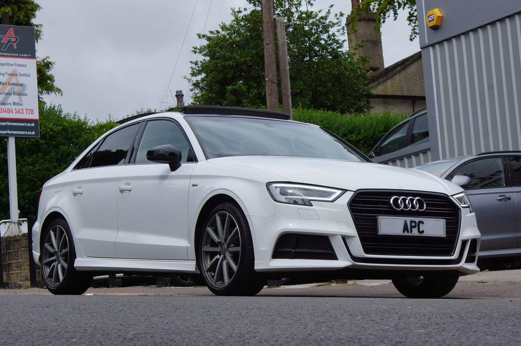 used Audi A3 TDI Black Edition S Tronic (s/s) 4dr in west-yorkshire