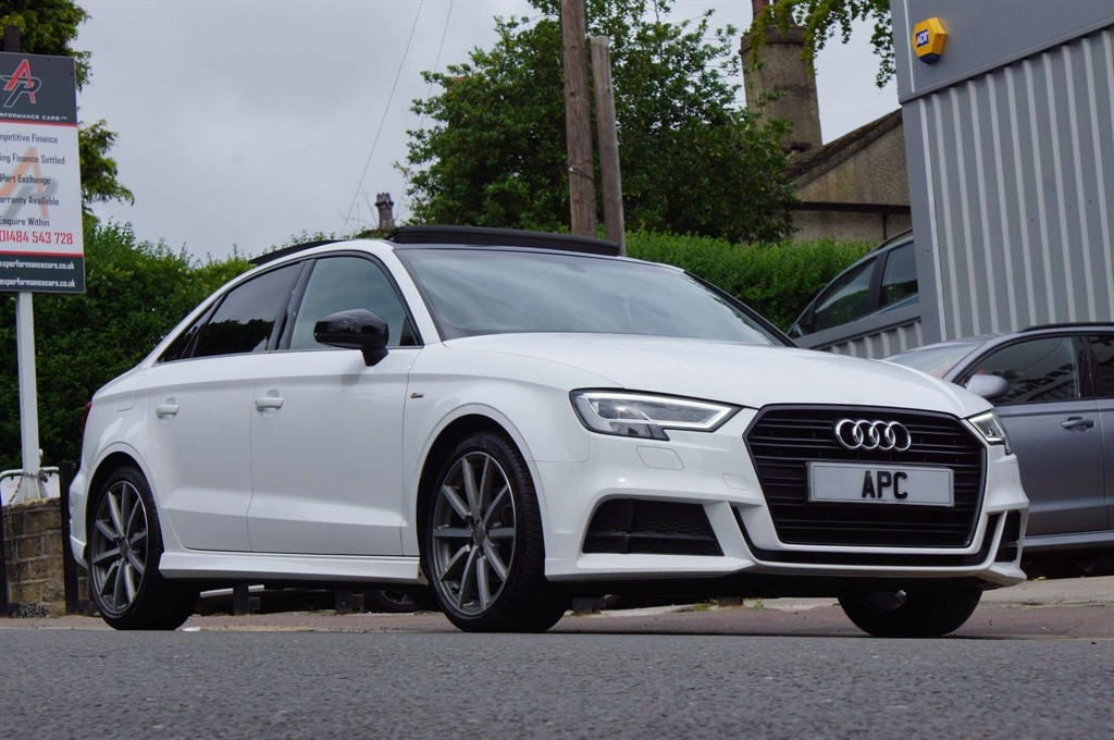 used Audi A3 Black Edition S Tronic Auto 6Spd (s/s) in west-yorkshire