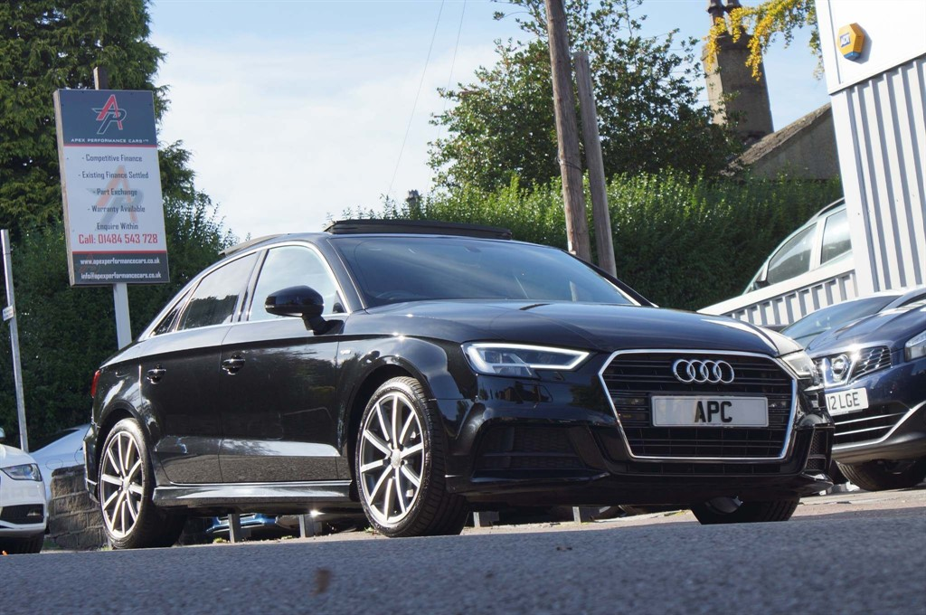 used Audi A3 TDI S line Tronic (s/s) 4dr in west-yorkshire