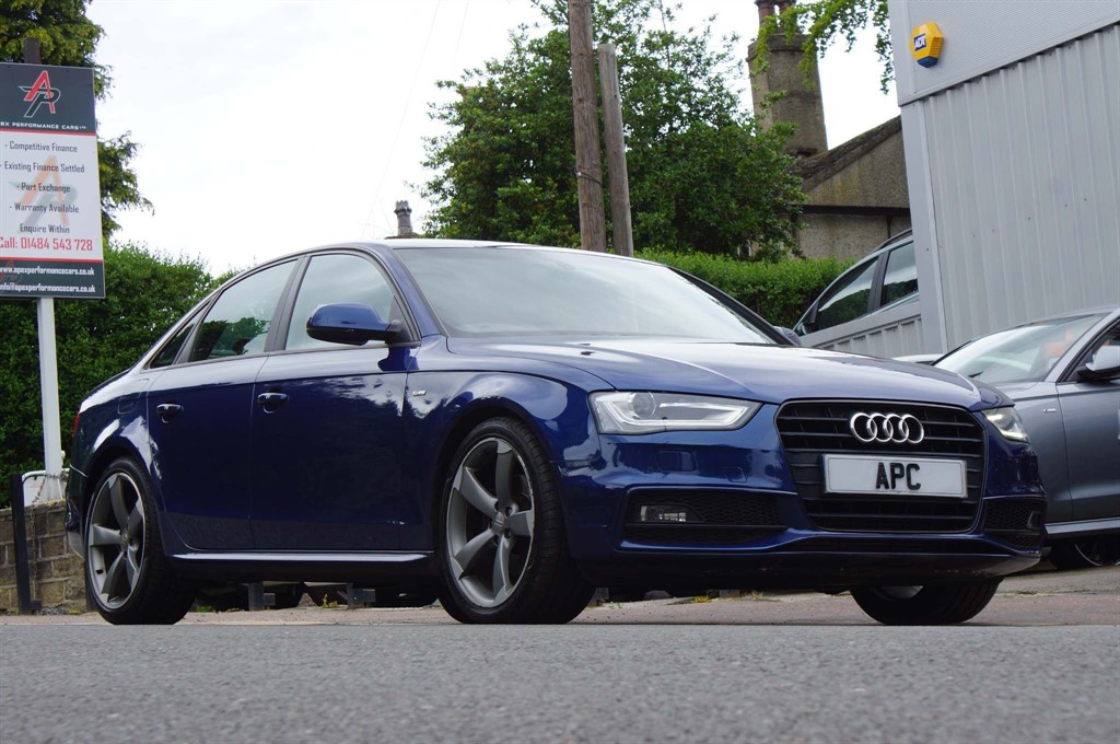 used Audi A4 TFSI Black Edition Multitronic 4dr in west-yorkshire