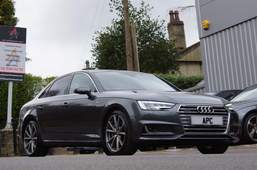 used Audi A4 TFSI S line S Tronic quattro (s/s) in west-yorkshire