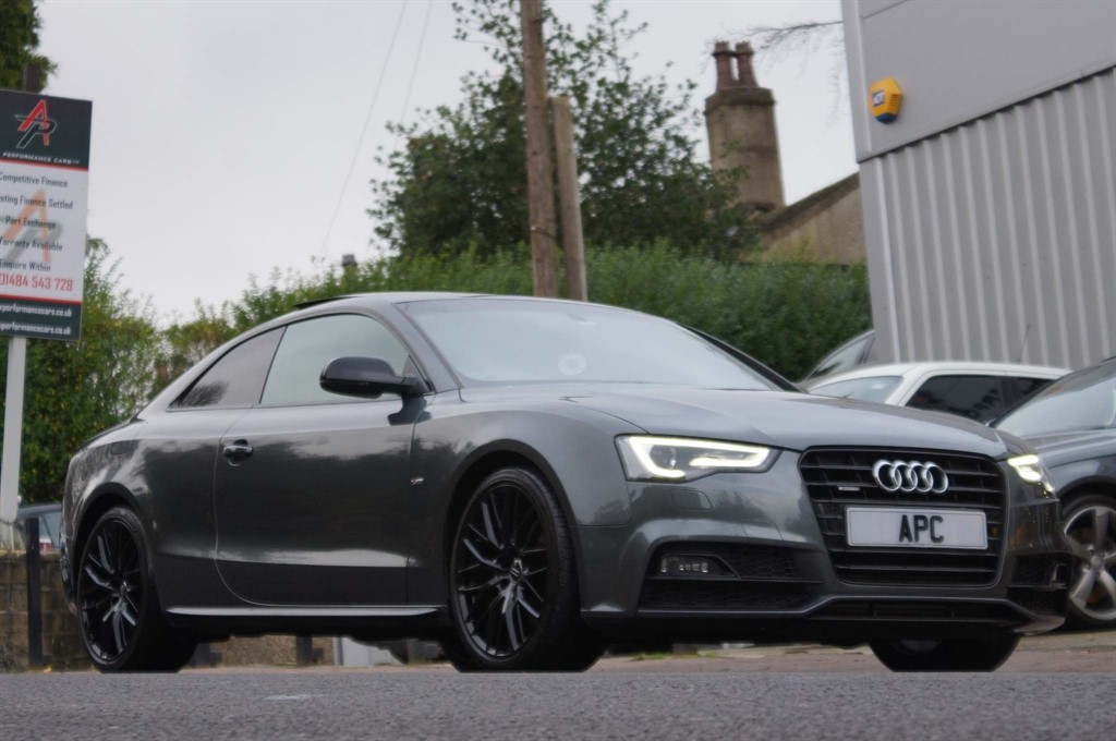 used Audi A5 TDI Black Edition Plus S Tronic quattro 2dr in west-yorkshire