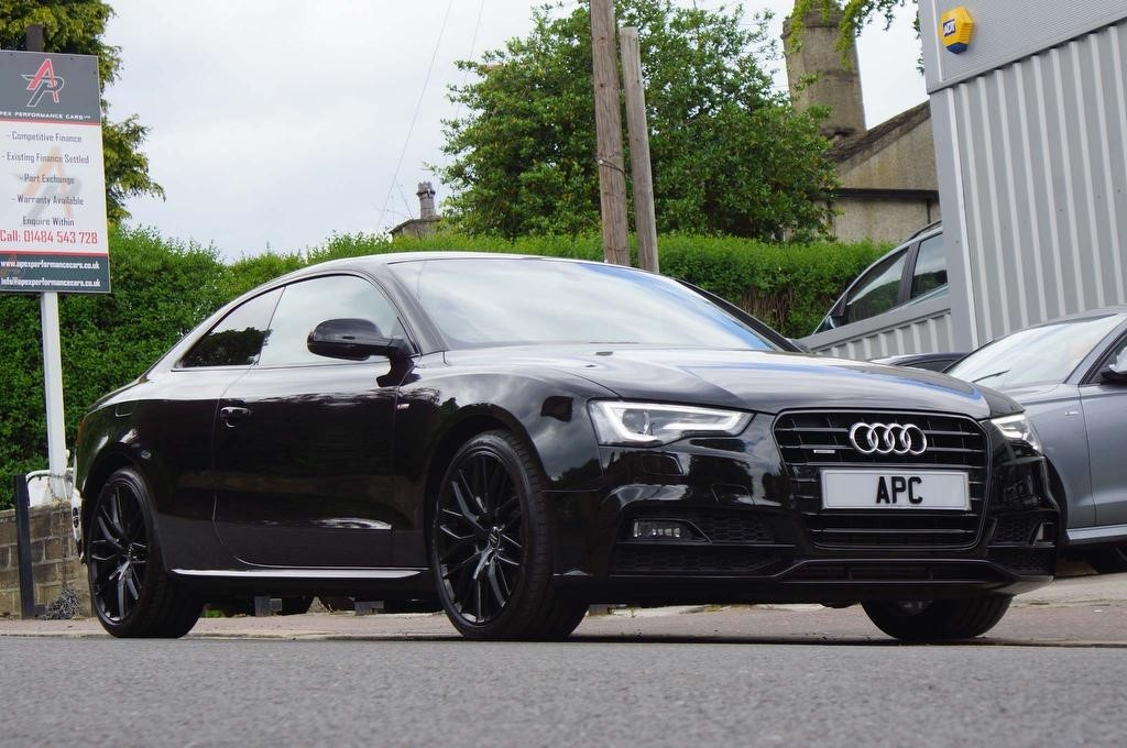 used Audi A5 TFSI Black Edition Plus quattro (s/s) 2dr in west-yorkshire