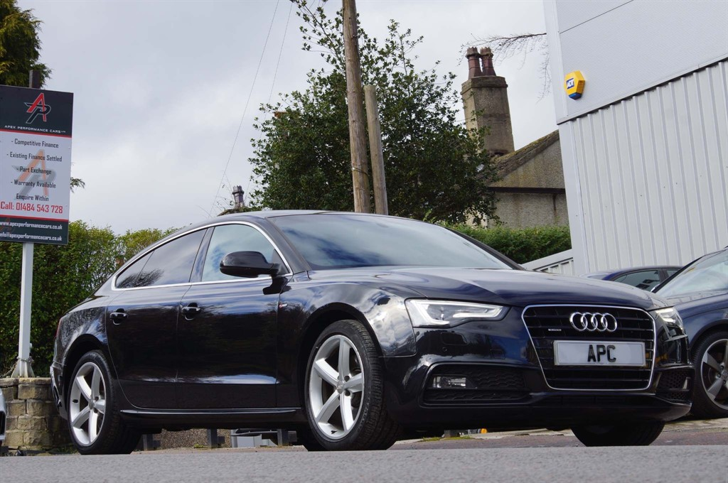 used Audi A5 TFSI S line Sportback quattro in west-yorkshire