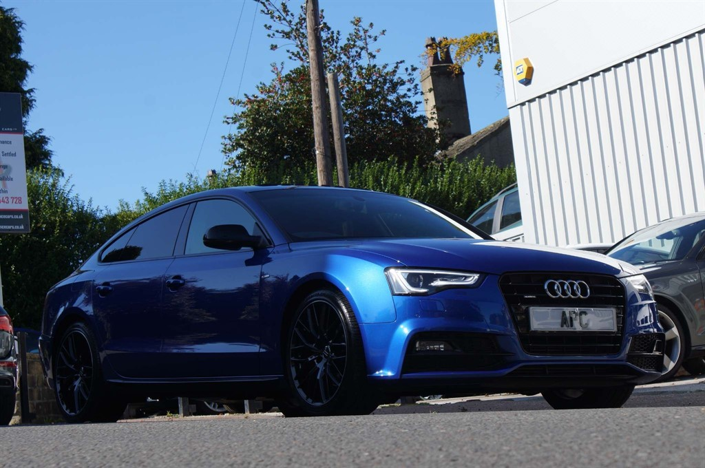 used Audi A5 TFSI Black Edition Plus Sportback quattro (s/s) 5dr in west-yorkshire