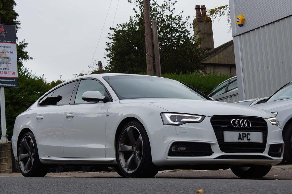 used Audi A5 TFSI Black Edition S Tronic quattro 5dr in west-yorkshire