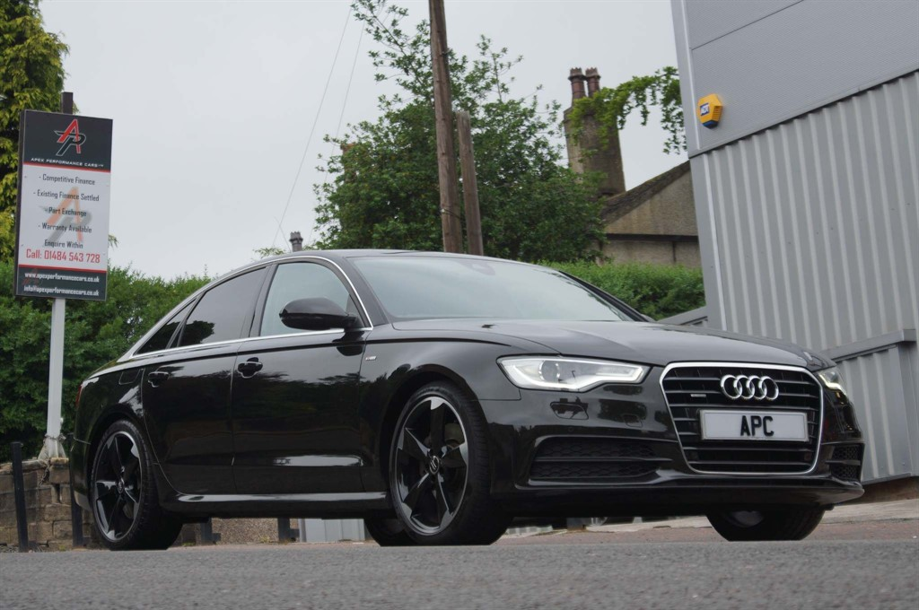used Audi A6 Saloon S line S Tronic quattro in west-yorkshire