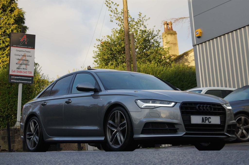 used Audi A6 Saloon TDI ultra Black Edition S Tronic (s/s) 4dr in west-yorkshire