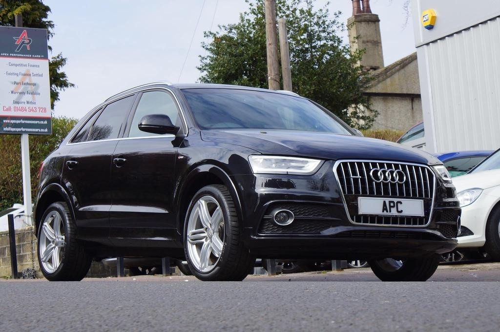 used Audi Q3 TDI S line Plus Tronic quattro 5dr in west-yorkshire