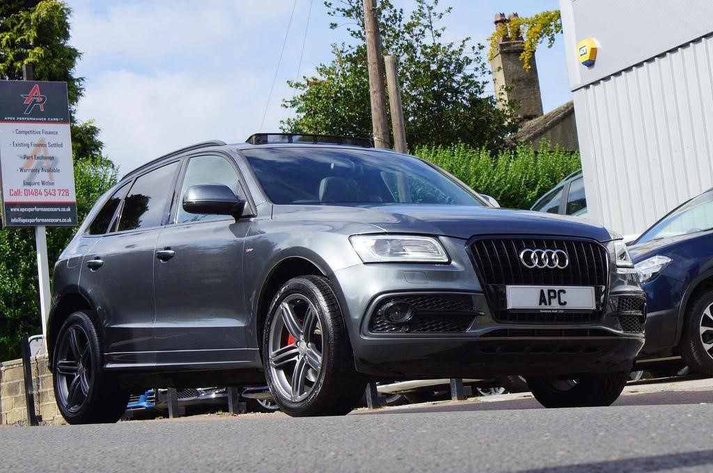 used Audi Q5 TDI S line Plus Tronic quattro (s/s) 5dr in west-yorkshire