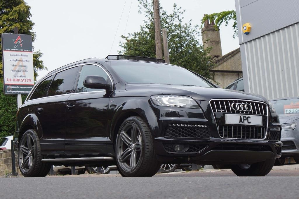 used Audi Q7 4.2 TD S line Tiptronic quattro 5dr in west-yorkshire