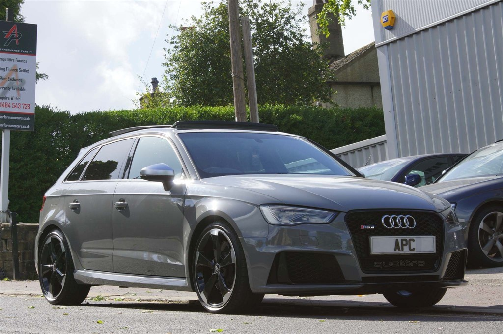 used Audi RS3 TFSI Sportback S Tronic quattro (Nav) in west-yorkshire