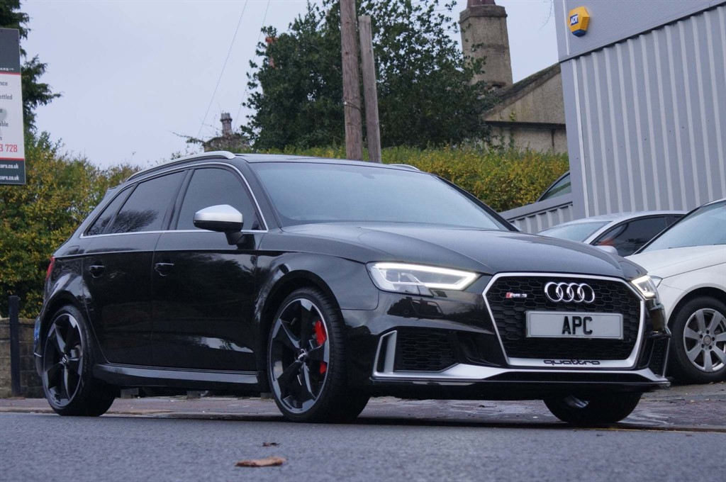 used Audi RS3 TFSI Sportback S Tronic quattro (s/s) 5dr in west-yorkshire
