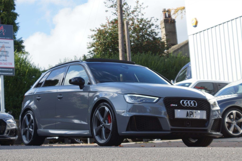 used Audi RS3 TFSI Sportback S Tronic quattro 5dr (Nav) in west-yorkshire