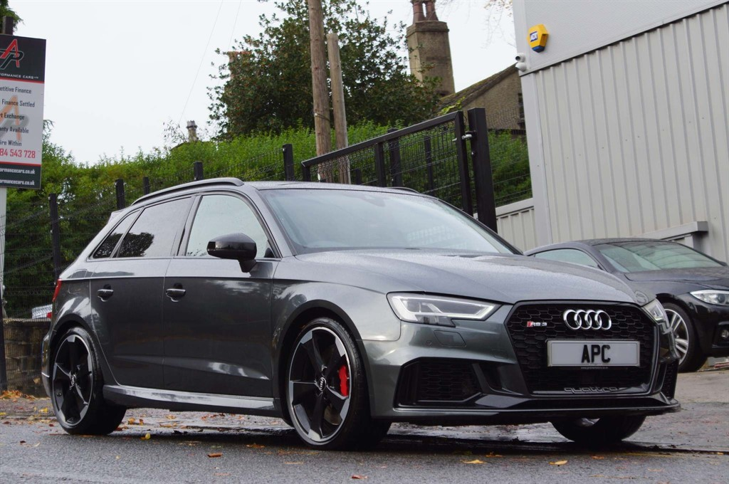 used Audi RS3 TFSI Sportback S Tronic quattro (s/s) in west-yorkshire
