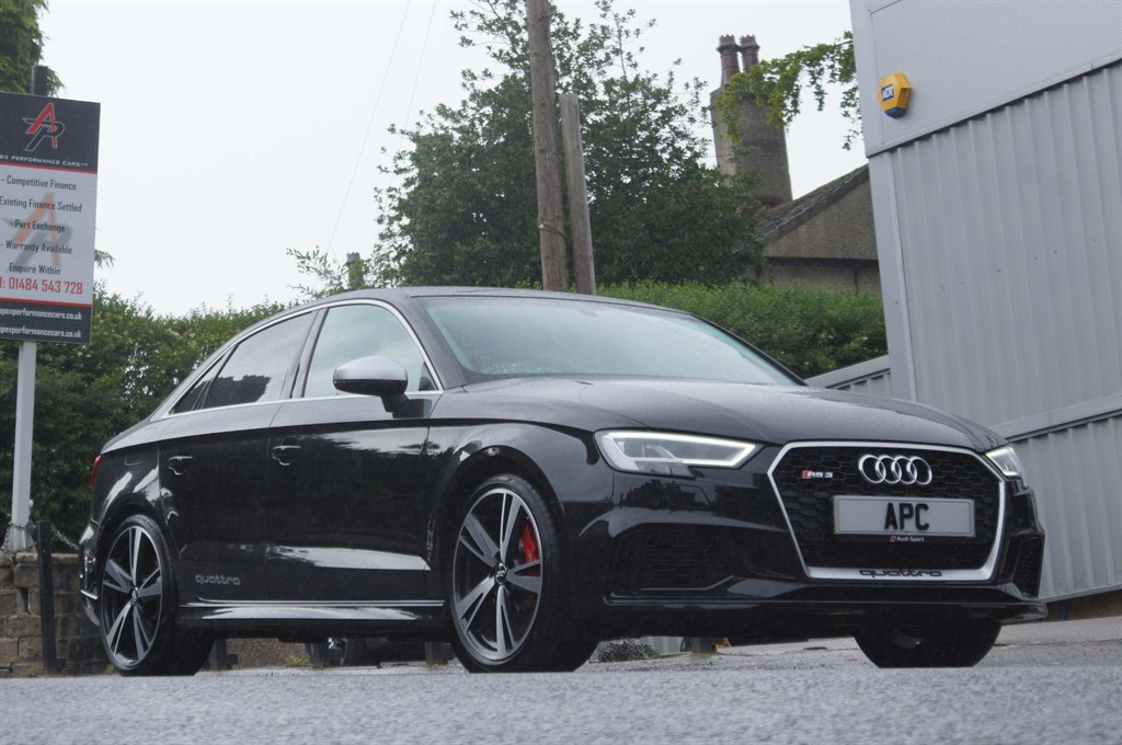 used Audi RS3 TFSI S Tronic quattro (s/s) in west-yorkshire