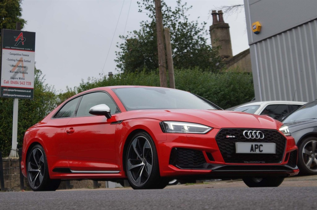 used Audi RS5 TFSI V6 Tiptronic quattro (s/s) in west-yorkshire