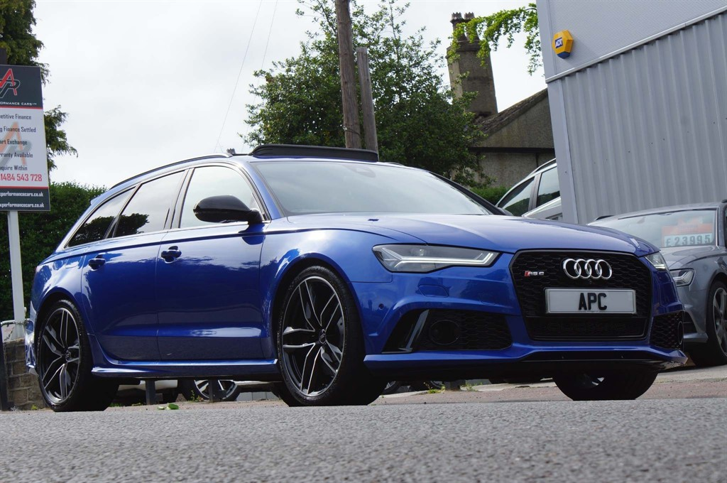 used Audi RS6 Avant Performance Avant Tiptronic quattro 5dr in west-yorkshire