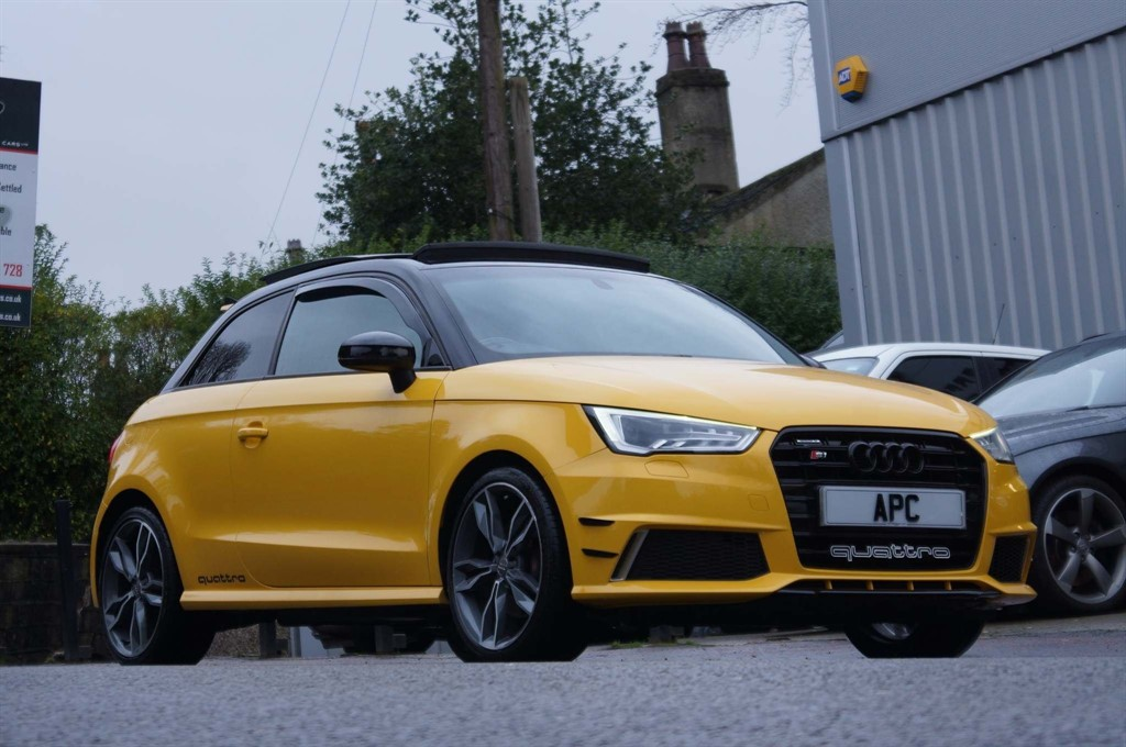 used Audi S1 TFSI quattro 3dr in west-yorkshire