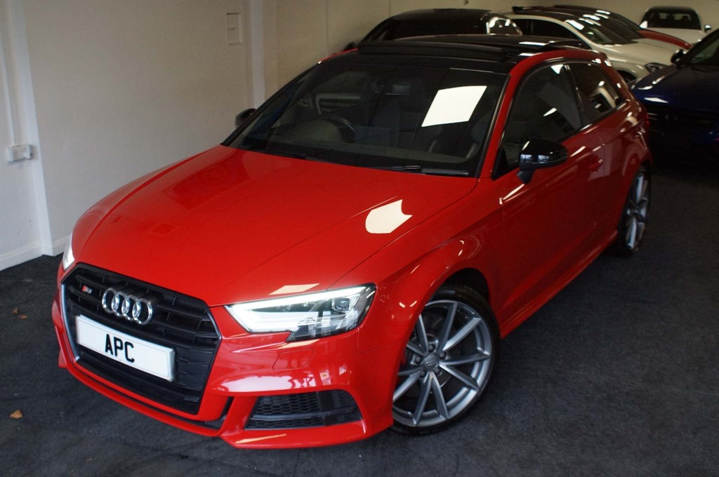 used Audi S3 TFSI Black Edition S Tronic quattro (s/s) in west-yorkshire