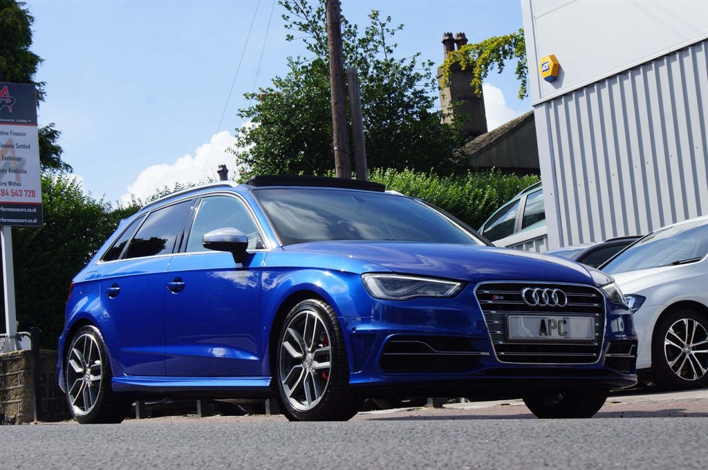 used Audi S3 TFSI Sportback S Tronic quattro 5dr in west-yorkshire