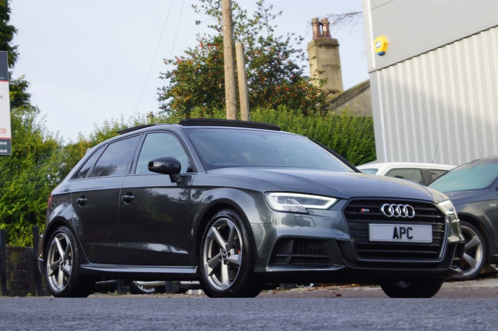 used Audi S3 TFSI Black Edition Sportback S Tronic quattro (s/s) 5dr in west-yorkshire