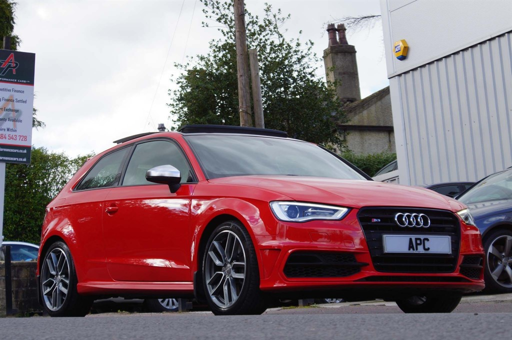 used Audi S3 TFSI S Tronic quattro in west-yorkshire