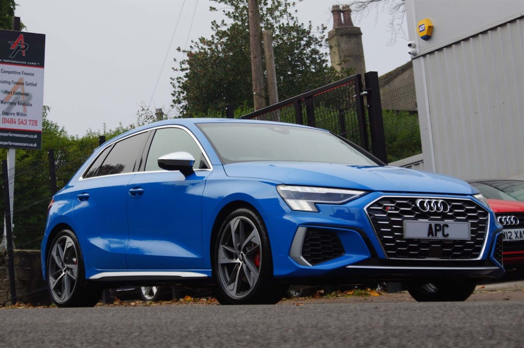 used Audi S3 TFSI S Tronic quattro (s/s) in west-yorkshire