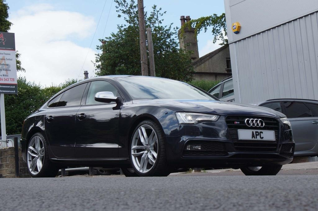 used Audi S5 TFSI Black Edition Sportback S Tronic quattro 5dr in west-yorkshire