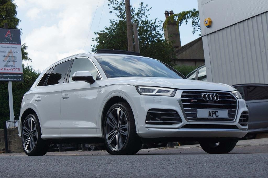 used Audi SQ5 TFSI V6 Tiptronic quattro (s/s) 5dr in west-yorkshire