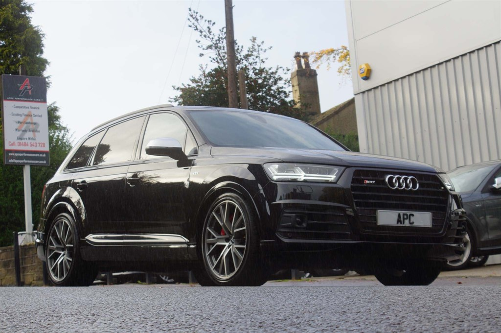 used Audi SQ7 V8 Tiptronic quattro (s/s) in west-yorkshire