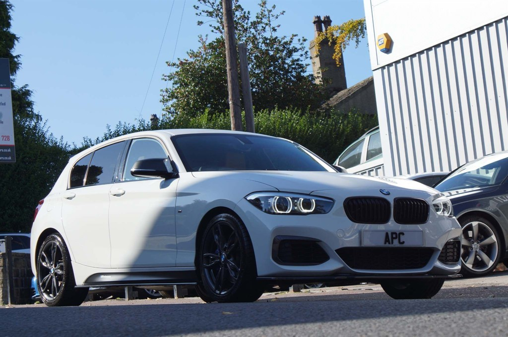 used BMW M140i 1 Series Shadow Edition Sports Hatch Auto (s/s) 5dr in west-yorkshire