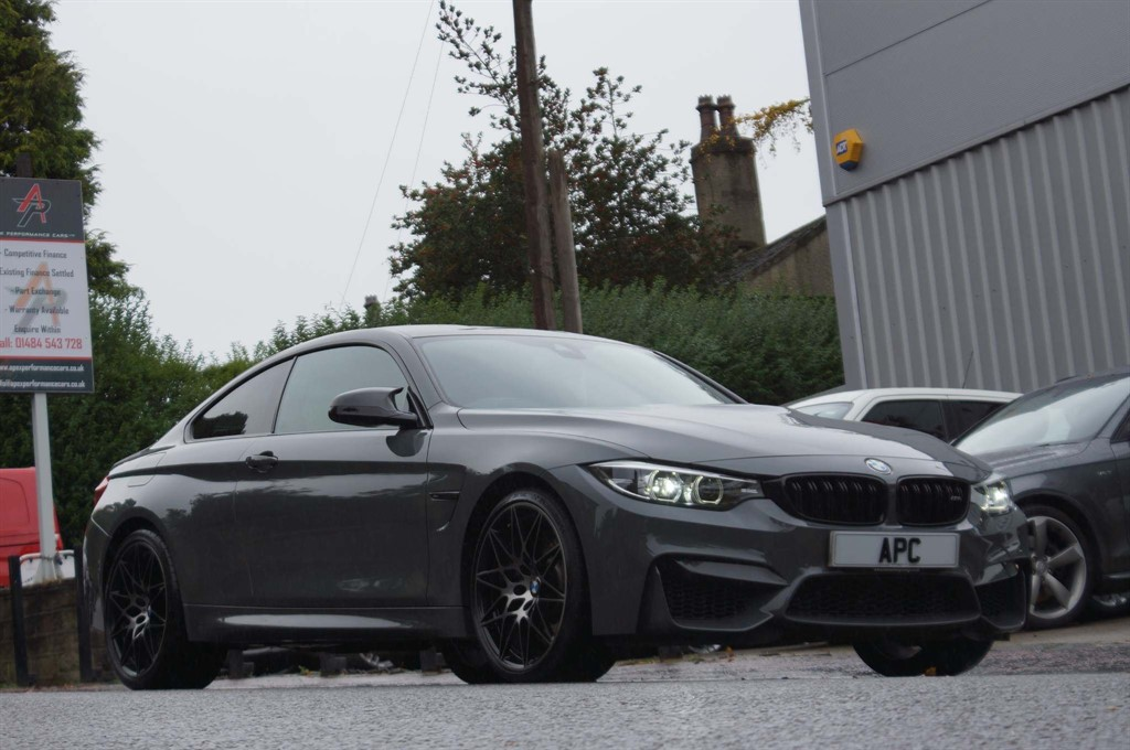 used BMW M4 BiTurbo Competition Pack DCT (s/s) 2dr in west-yorkshire