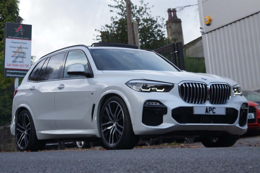 used BMW X5 30d M Sport Auto xDrive (s/s) in west-yorkshire