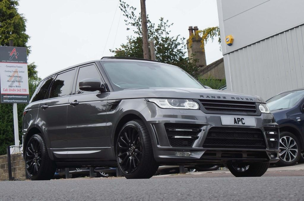 used Land Rover Range Rover Sport SD V6 HSE 4X4 (s/s) 5dr in west-yorkshire