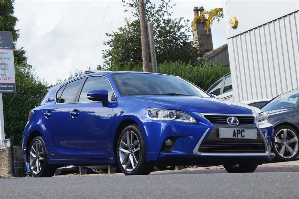 used Lexus CT 200h 200h Advance Plus CVT (s/s) 5dr in west-yorkshire
