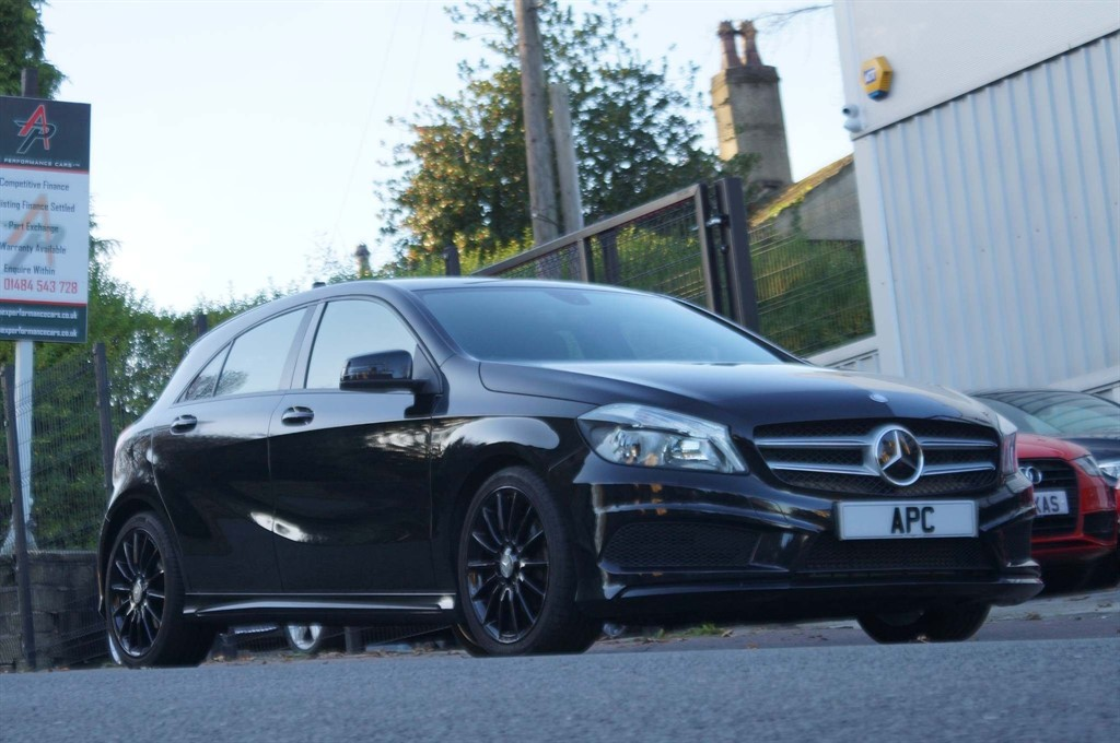 used Mercedes A180 CDI AMG Sport (E6) in west-yorkshire