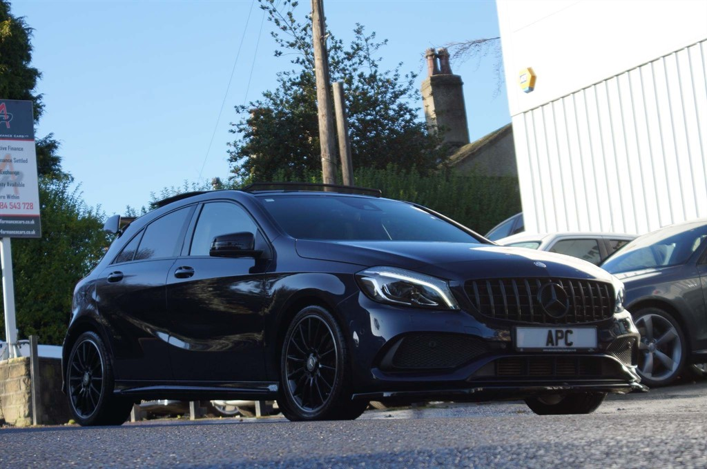 used Mercedes A200 A Class AMG Line (Premium Plus) 7G-DCT (s/s) 5dr in west-yorkshire