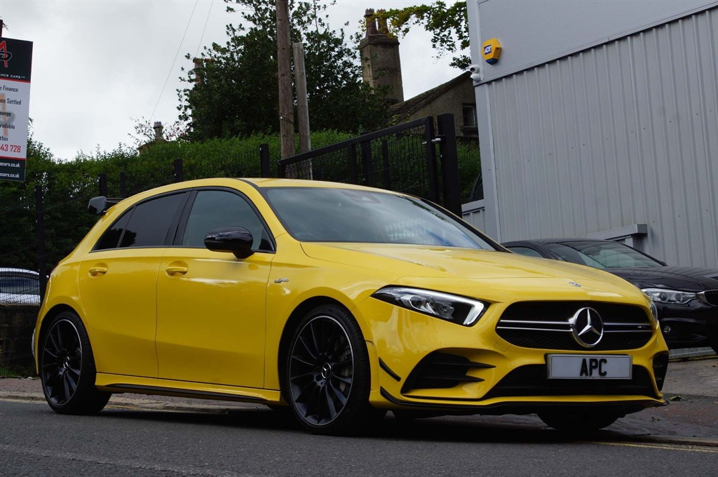 used Mercedes A35 AMG SpdS DCT 4MATIC (s/s) in west-yorkshire