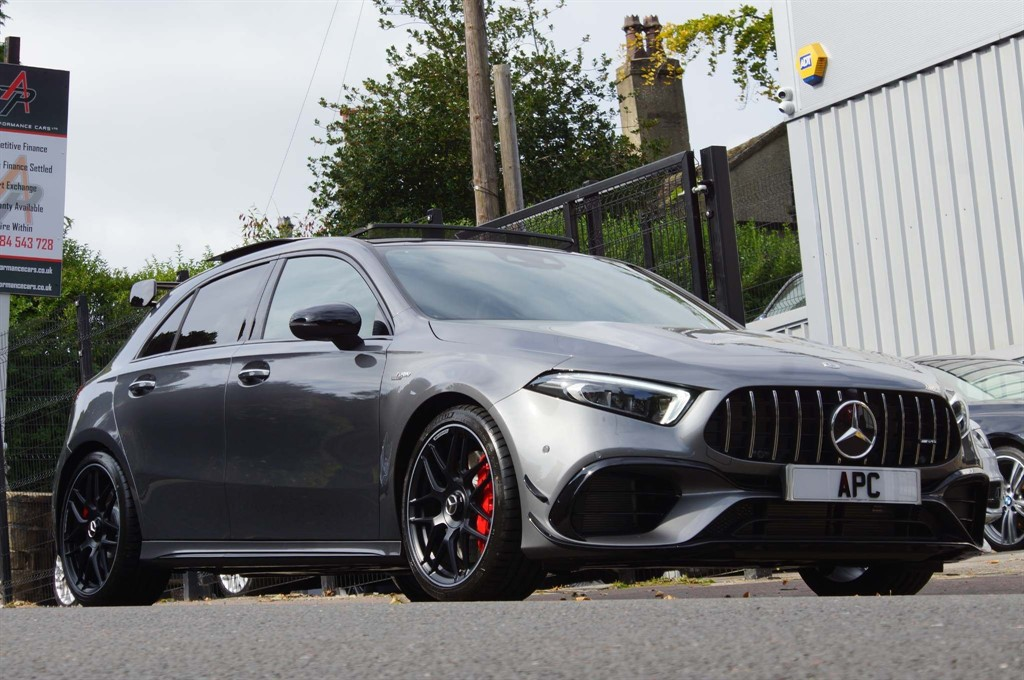 used Mercedes A45 AMG S Plus 8G-DCT 4MATIC+ (s/s) in west-yorkshire