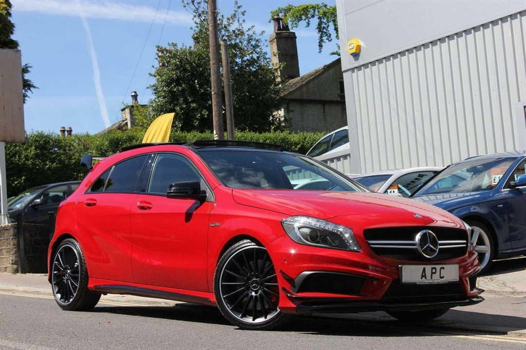 used Mercedes A45 AMG A Class 7G-DCT 4MATIC 5dr in west-yorkshire