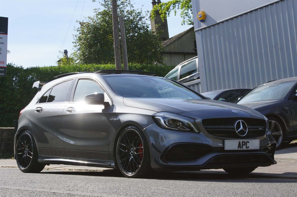 used Mercedes A45 AMG (Premium) SpdS DCT 4MATIC (s/s) in west-yorkshire