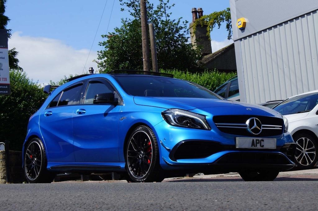 used Mercedes A45 AMG A Class (Premium) SpdS DCT 4MATIC (s/s) 5dr in west-yorkshire
