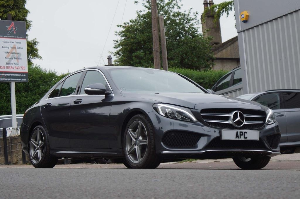 used Mercedes C220 C Class CDI BlueTEC AMG Line 7G-Tronic Plus (s/s) 4dr in west-yorkshire