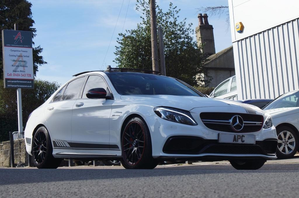 used Mercedes C63 AMG C Class S Edition 1 Speedshift MCT (s/s) 4dr in west-yorkshire