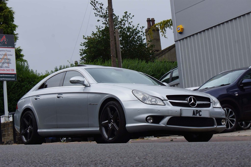 used Mercedes CLS 5.5 CLS55 AMG 4dr in west-yorkshire