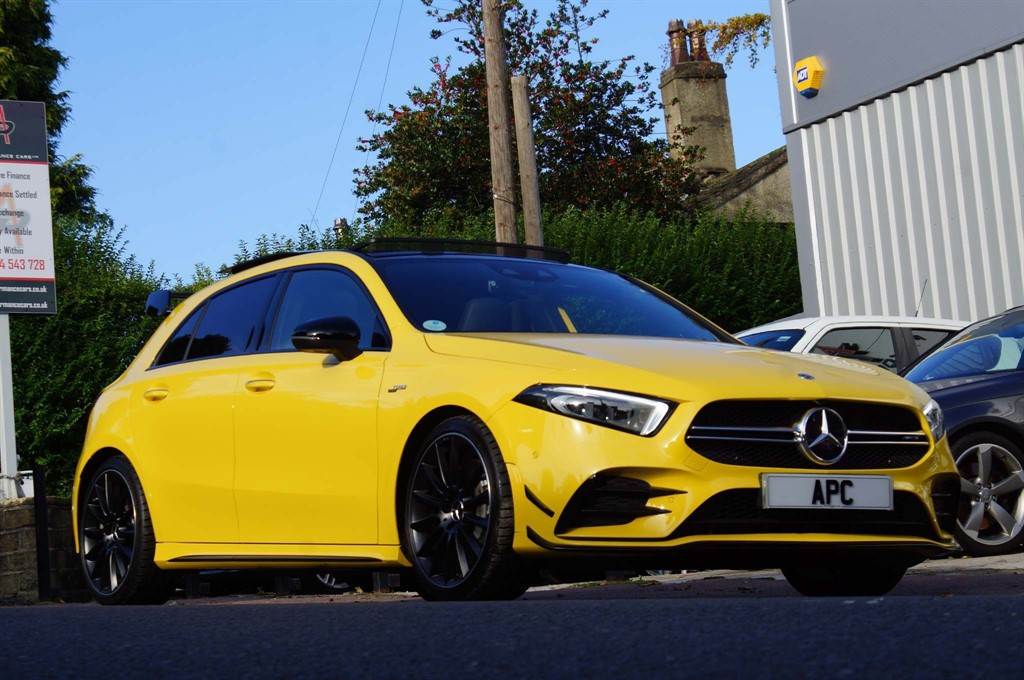 used Mercedes A35 AMG A Class (Premium Plus) SpdS DCT 4MATIC (s/s) 5dr in west-yorkshire